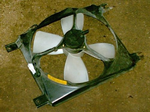 Fan, air conditioning, Mazda MX-5 mk1 a/c cooling fan, N00161710, USED
